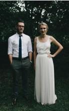 Einfaches Elegantes Ländliches Lässiges Lässiges Klassisches Hochzeitskleid Manchester GBWD125