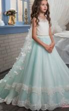 Prinzessin ärmelloses Kinder Ballkleid Für Mädchen CH0107