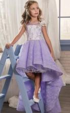 A-linie ärmelloses Kinder Ballkleid Für Mädchen Mit Applikationen CH0133