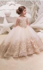 Mädchen Bodenlangen Partykleid Stralia Kinder Abendkleid Chk052