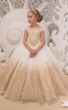 Mädchen Bodenlangen Partykleid Stralia Kinder Abendkleid Chk057