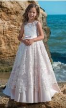 Mädchen Bodenlangen Partykleid Stralia Kinder Abendkleid Chk077
