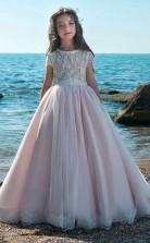 Mädchen Bodenlangen Partykleid Stralia Kinder Abendkleid Chk078