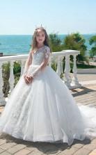 Mädchen Bodenlanges Partykleid Stralia Kinder Gelegenheitskleid Chk087