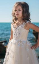 Mädchen Bodenlanges Partykleid Stralia Kinder Gelegenheitskleid Chk088
