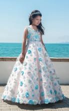 Mädchen Bodenlanges Partykleid Stralia Kinder Gelegenheitskleid Chk093