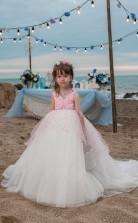 Mädchen Bodenlangen Partykleid Stralia Kinder Abendkleid Chk100