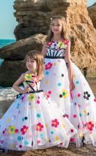 Mädchen Bodenlangen Partykleid Stralia Kinder Abendkleid Chk103