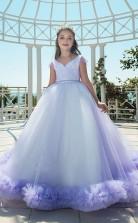 Mädchen Bodenlangen Partykleid Stralia Kinder Abendkleid Chk104