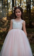 Mädchen Bodenlangen Partykleid Stralia Kinder Neujahrskleid Chk105