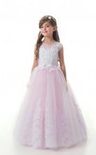Mädchen Bodenlangen Partykleid Stralia Kinder Weihnachtskleid Chk124