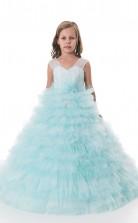 Mädchen Bodenlangen Partykleid Stralia Kinder Abendkleid Chk131