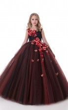 Mädchen Bodenlangen Partykleid Stralia Kinder Abendkleid Chk132