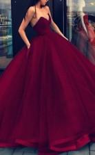 Ballkleid Schatz Organza Bodenlanges Kleid JTC16433