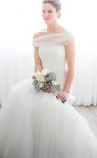 Meerjungfrau Schulterfreies Brautkleid Aus Tüll Prinzessin Brautkleid Twa4942