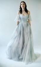 Schulterfrei Einzigartiges Design Beliebteste Lange Brautkleid Brautkleider Twa5002